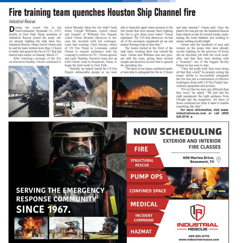 June Advertisement and article